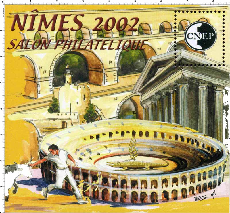 2002 Nîmes Salon philatélique CNEP