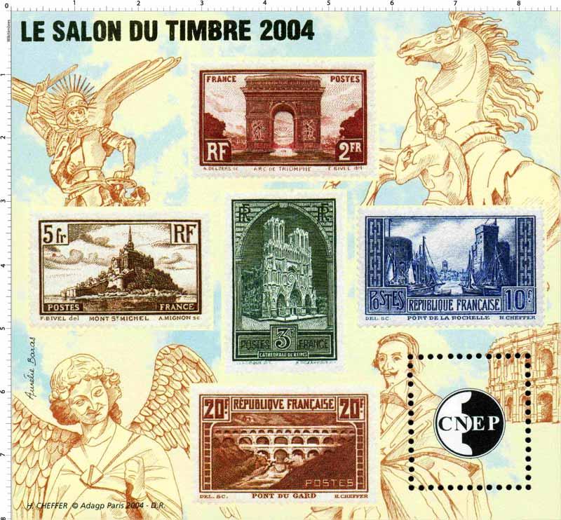 2004 Le salon du timbre CNEP
