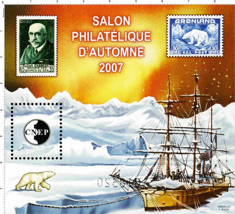 2007 Salon philatélique d'automne CNEP