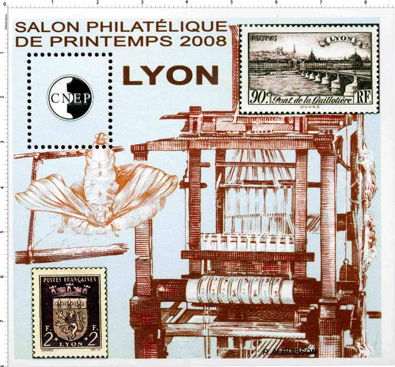 2008 Salon philatélique de printemps Lyon CNEP