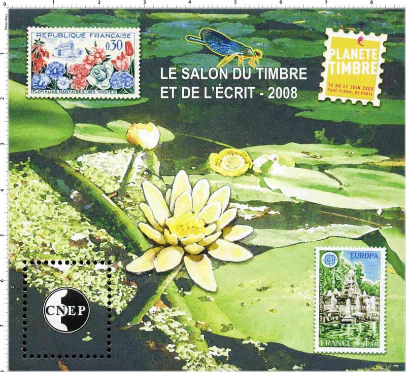 2008 Le salon du timbre et de l'écrit planète timbre