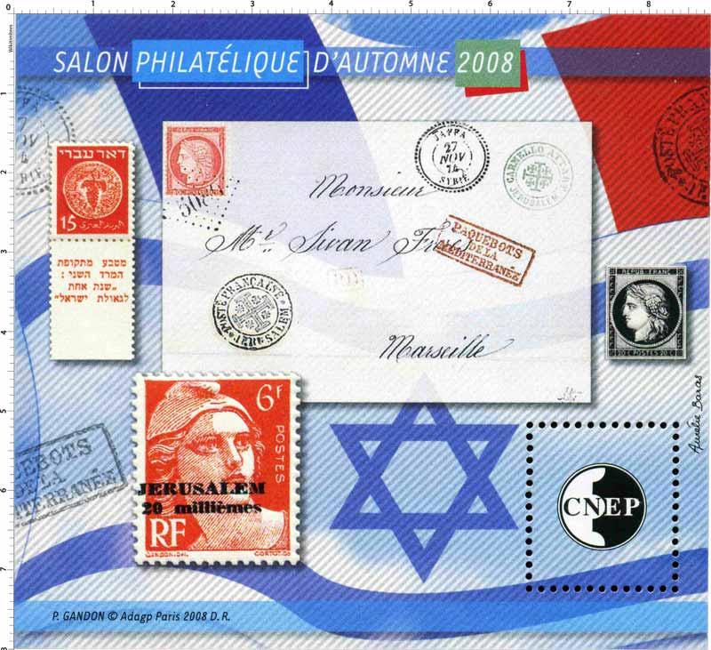 2008 Salon philatélique d'automne CNEP