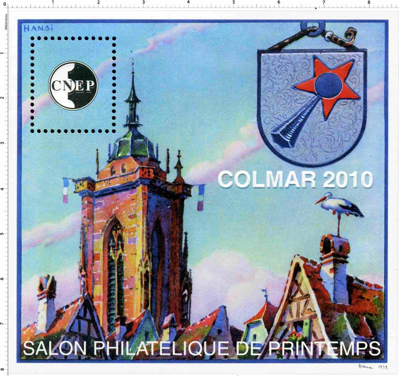 2010 Salon philatélique de printemps Colmar CNEP