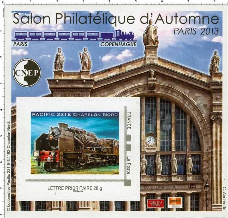 67e Salon philatélique d'automne Paris 2013