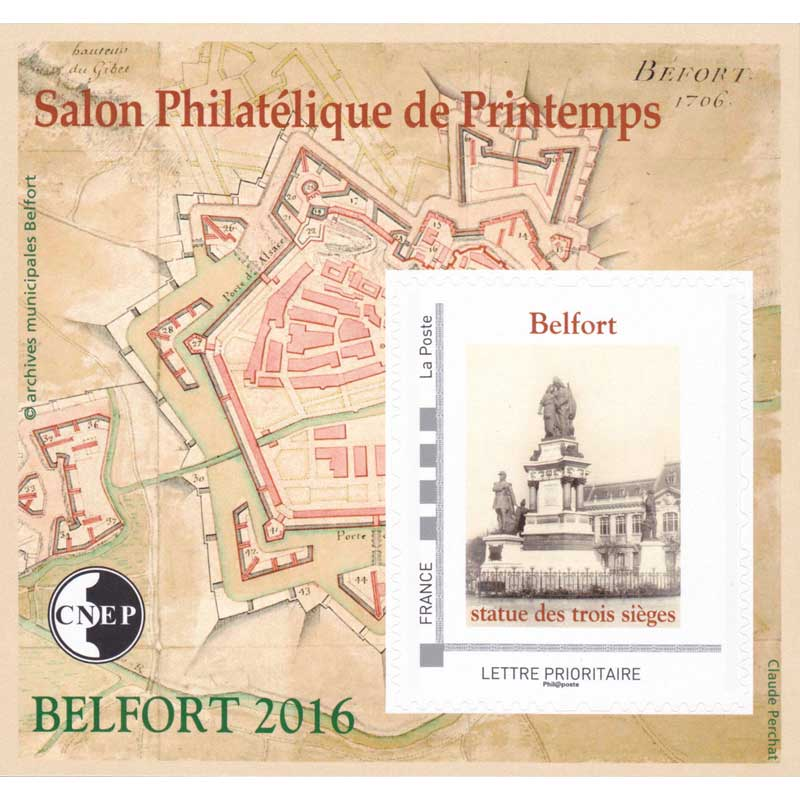 2016 Salon philatélique de printemps Belfort