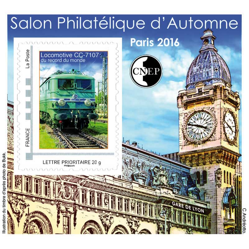 2016 Salon philatélique d'automne Paris 2016
