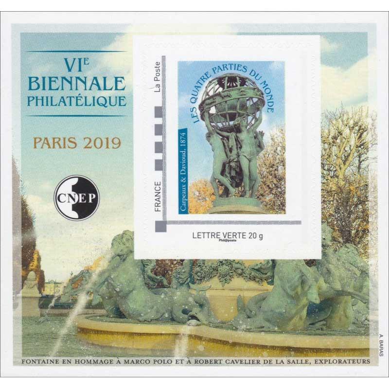 2019 VIe Biennale philatélique - Paris