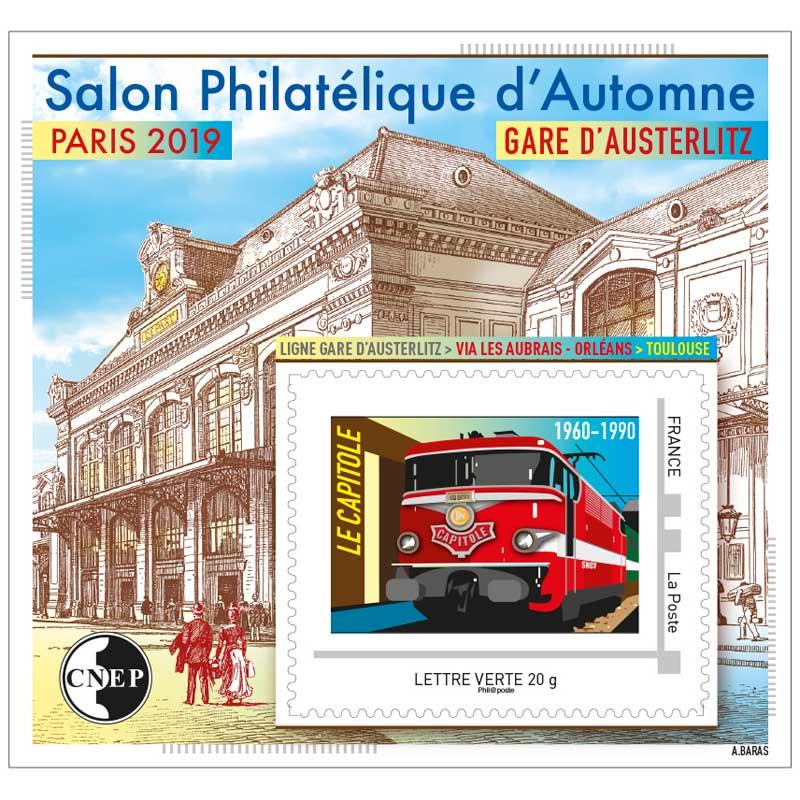 2019 Salon Philatélique d'Automne, Paris 2019 - Gare d'Austerlitz