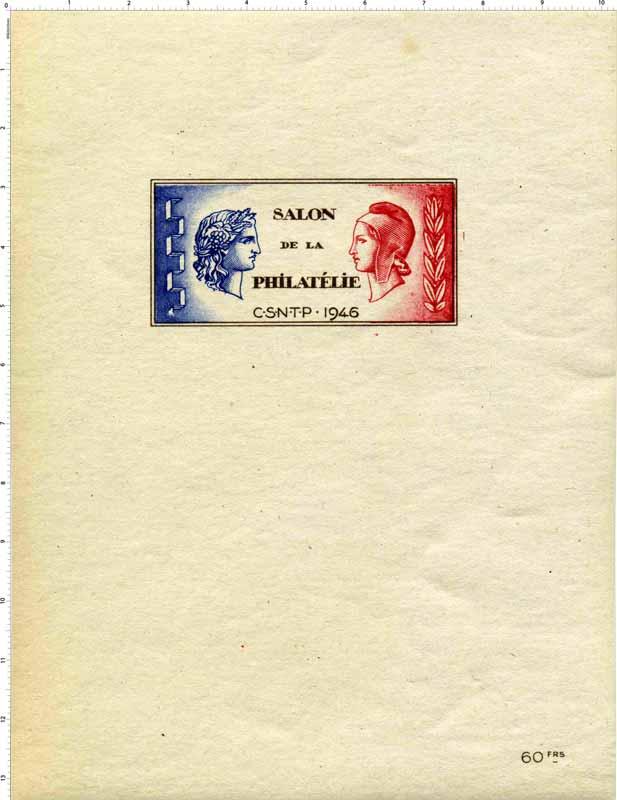 1946 Salon de la philatélie C.S.N.T.P