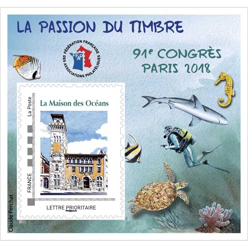 2018 La passion du timbre - 91 congrès Paris