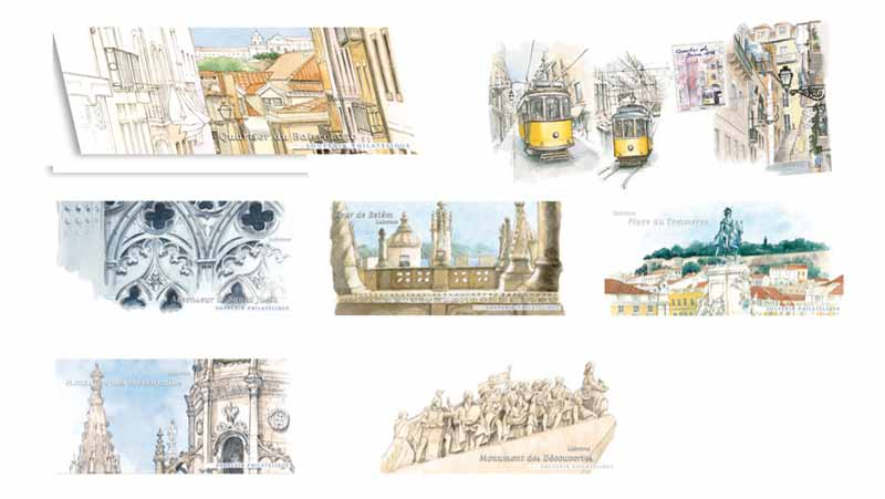 Capitales européennes Lisbonne