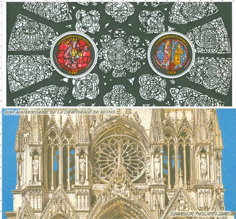 800e anniversaire de la Cathédrale de Reims
