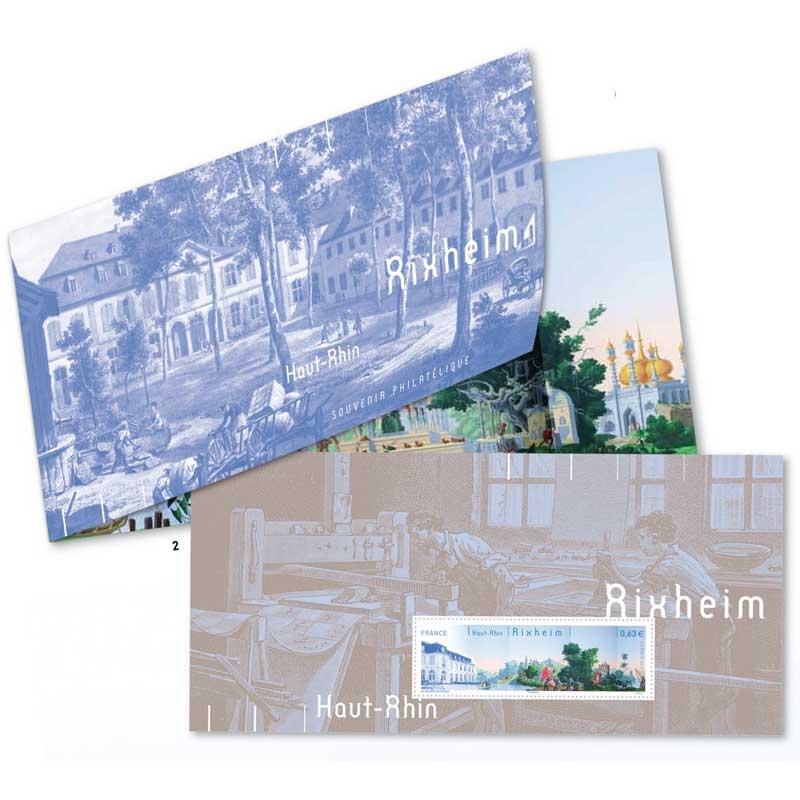 Souvenir philatélique Rixheim
