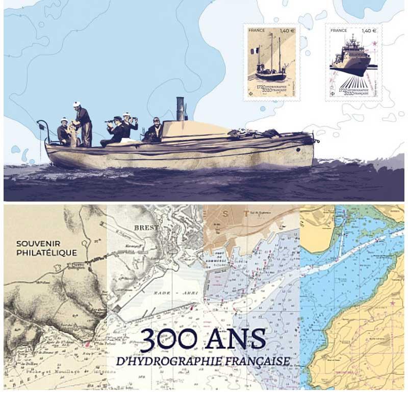 2020 300 ANS HYDROGRAPHIE FRANÇAISE