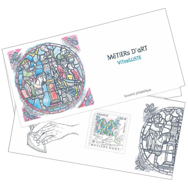 2021 Métiers d'art - Vitrailliste