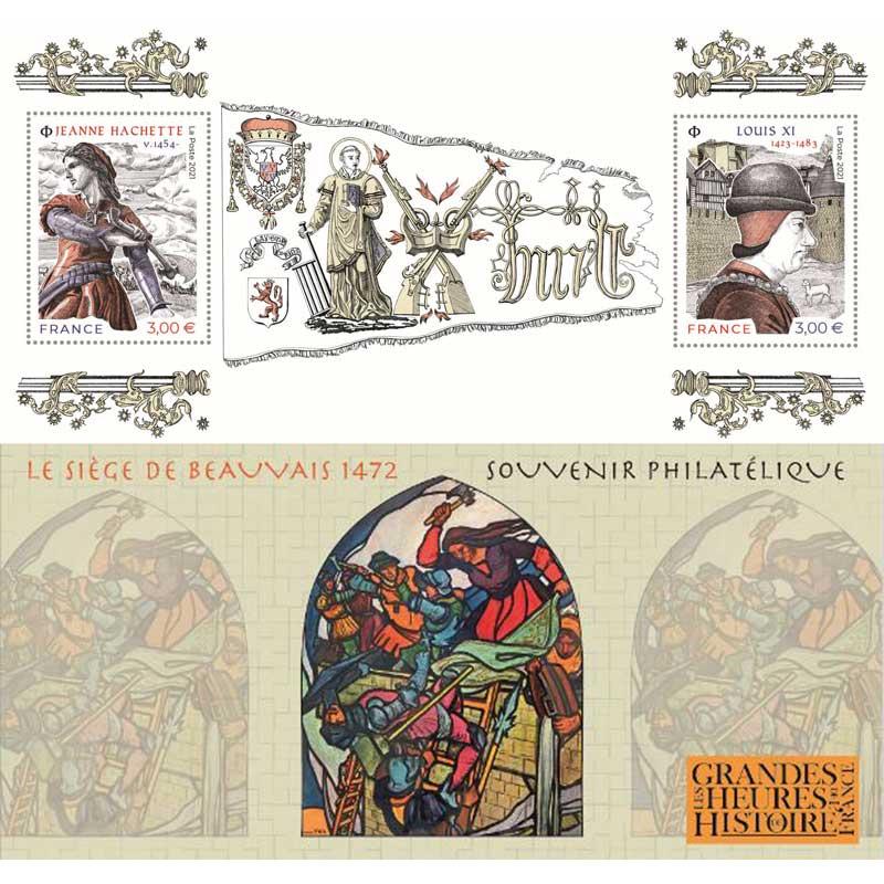 2021 LES GRANDES HEURES DE L'HISTOIRE DE FRANCE -  Jeanne Hachette v1454 – Louis XI 1423-1483