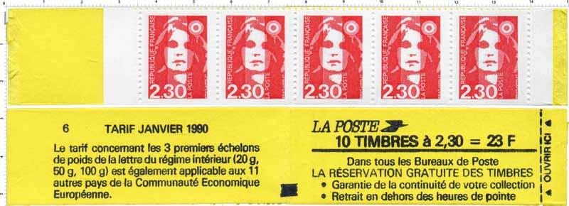 Réservation gratuite des timbres