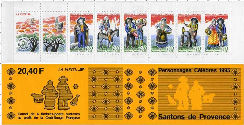 1995 Personnages célèbres Santons de Provence