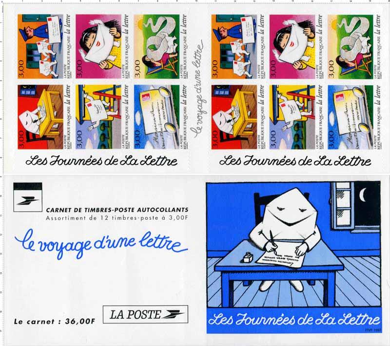 timbre   les journ u00e9es de la lettre le voyage d u0026 39 une lettre