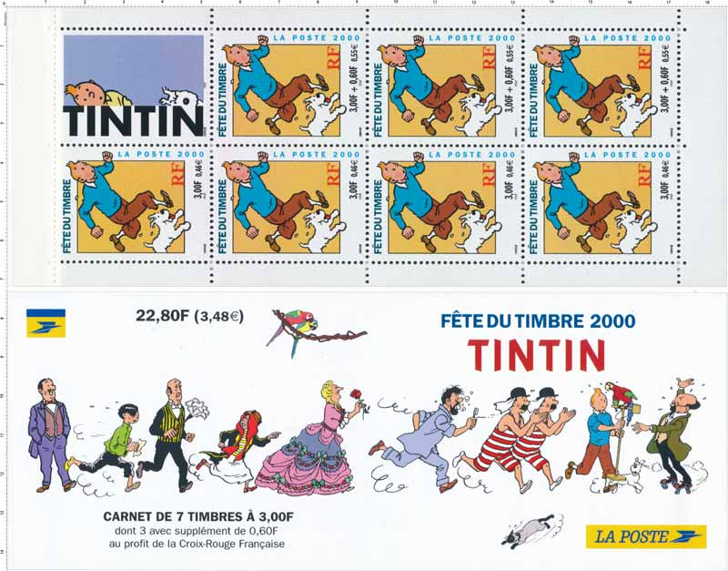 2000 FÊTE DU TIMBRE TINTIN