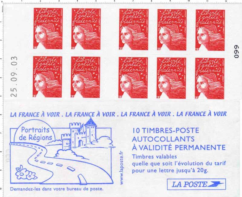 Portrait de région la France à voir