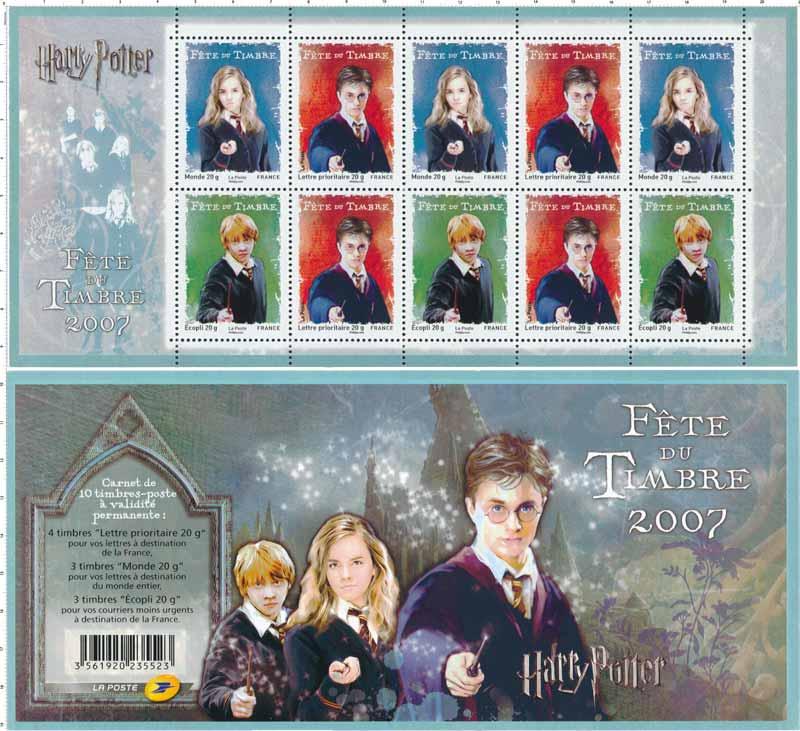 2007 FÊTE DU TIMBRE Harry Potter