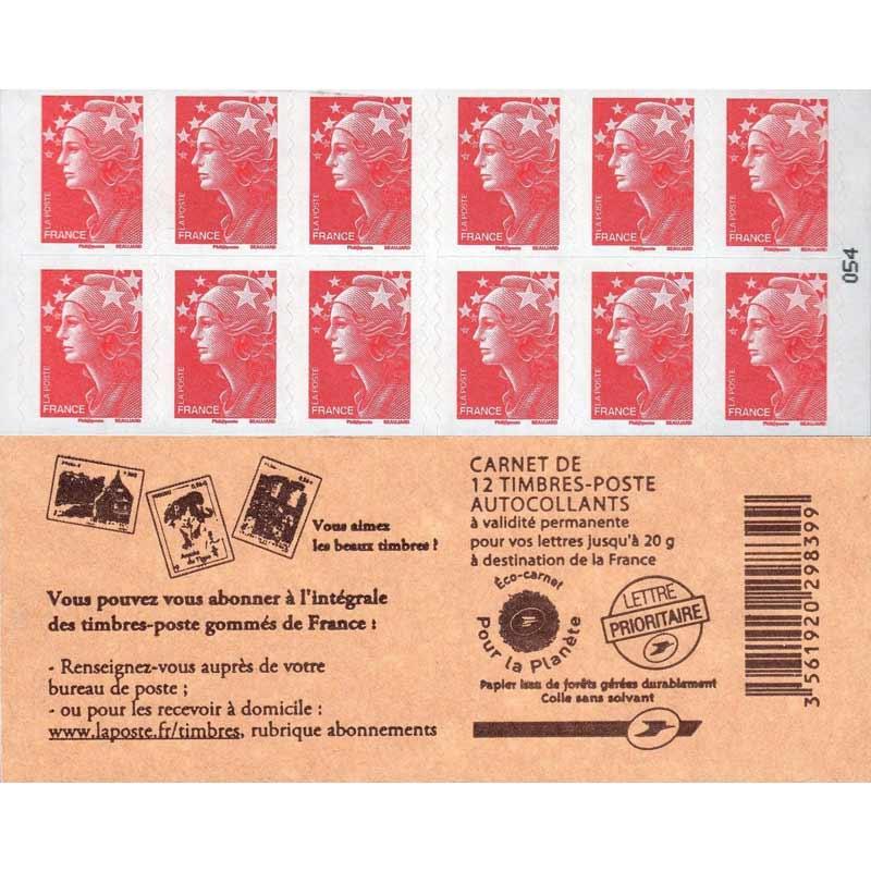 Vous pouvez vous abonner à l'intégrale des timbres-postes gommés