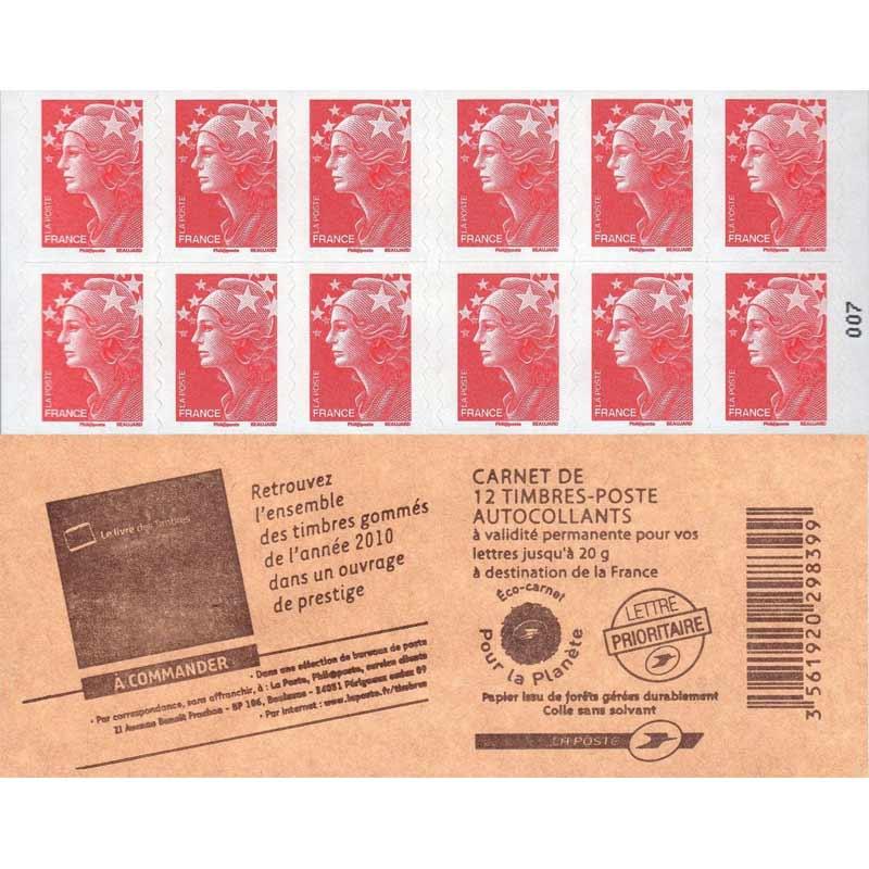 Retrouvez l'ensemble des timbres gommés de l'année 2010