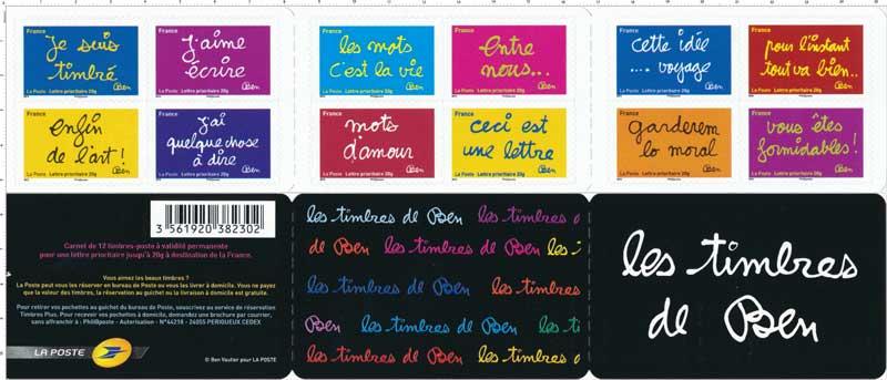 2011 Les timbres de Ben