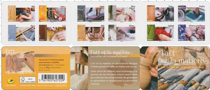 2015 L'art et la matière - Les métiers de l'artisanat en France