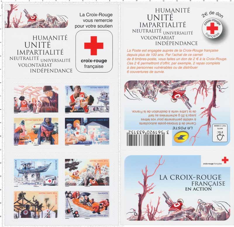 2015 Carnet Croix-Rouge