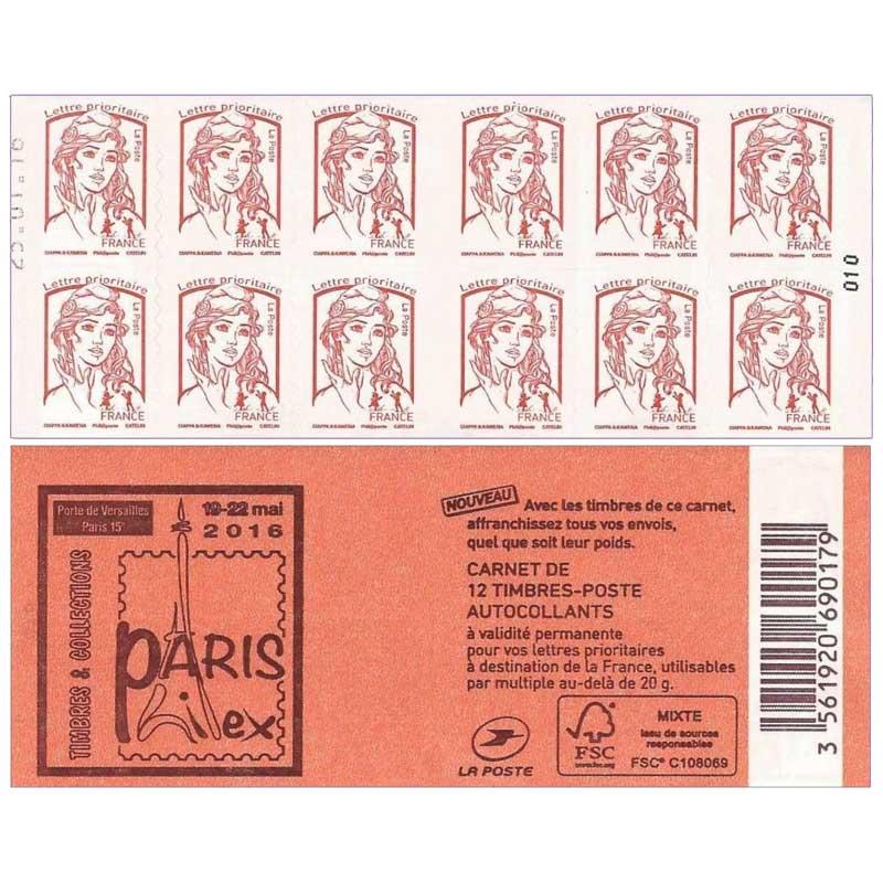 2016 Carnet Paris Philex