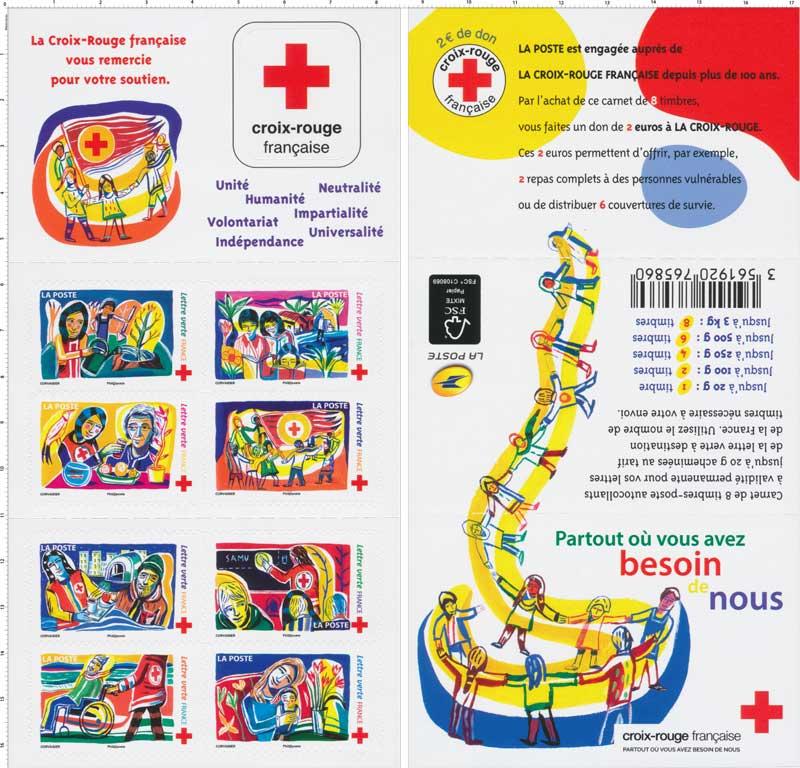 2017 Croix-Rouge française : Partout où vous avez besoin de nous