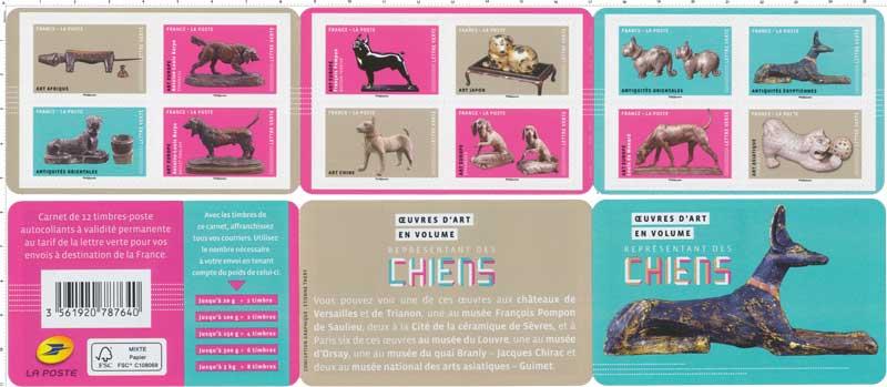 2018 Œuvres d'art en volume représentant des chiens