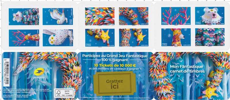 2019 Mon Fantastique carnet de timbres