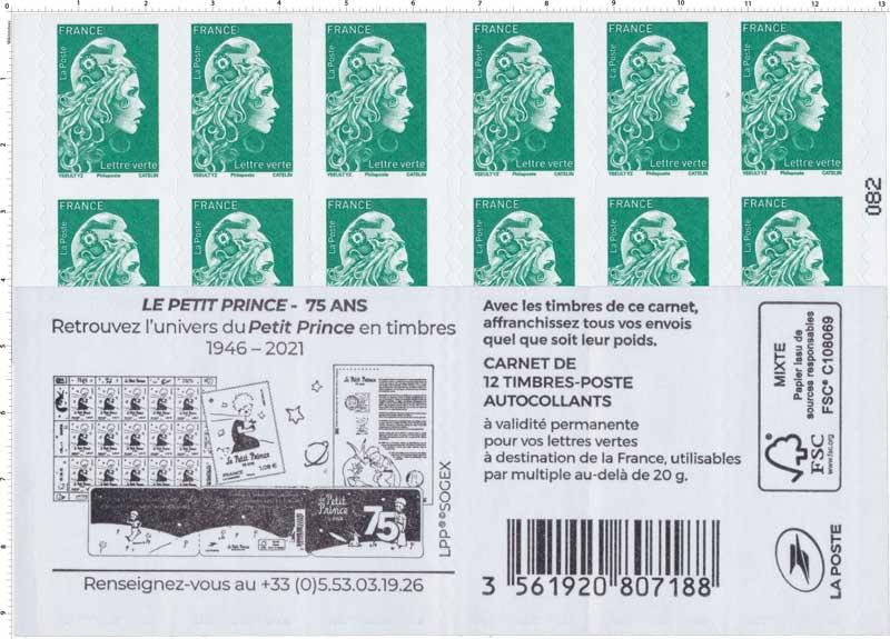 2021 Carnet Marianne - Petit Prince