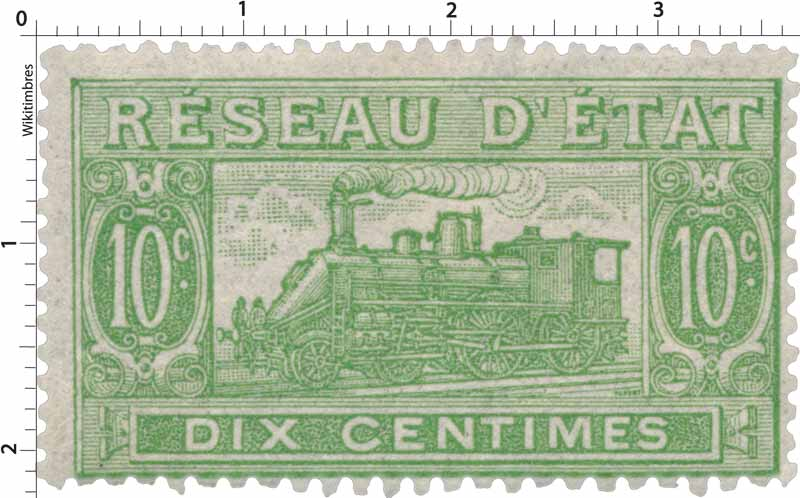 Réseau d'état dix centimes
