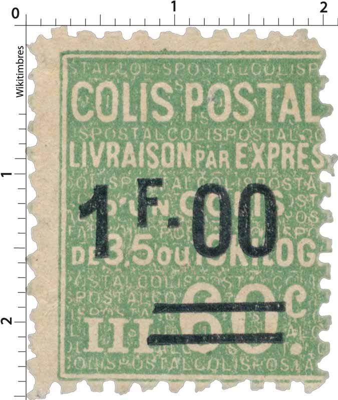 COLIS POSTAL LIVRAISON PAR EXPRES d'un colis de 3,5 ou 10 kilog