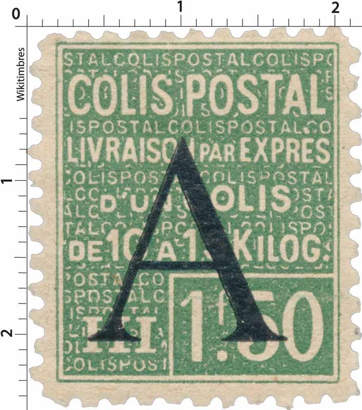 COLIS POSTAL Livraison par exprès d'un colis de 3,5 ou 10 kilos