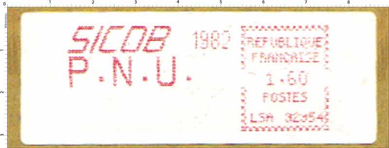 SICOB 1982 P.N.U