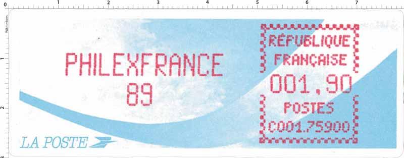 PHILEXFRANCE 89