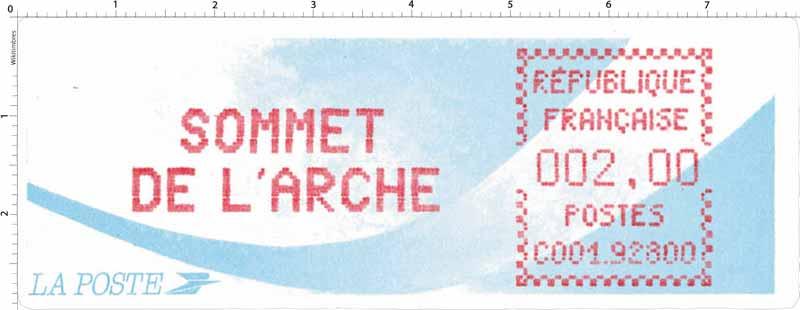 SOMMET DE L'ARCHE
