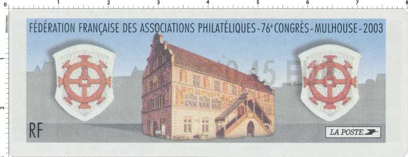 2003 76ème congrès de la FFAP - Mulhouse