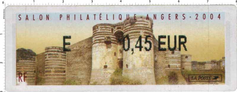 2004 SALON PHILATÉLIQUE - ANGERS