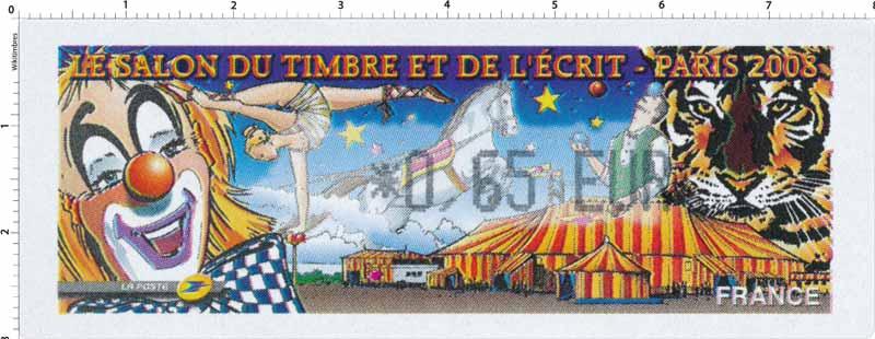 LE SALON DU TIMBRE ET DE L´ÉCRIT - PARIS 2008