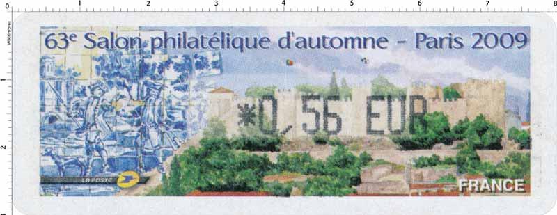 63e salon philatélique d´automne Paris 2009