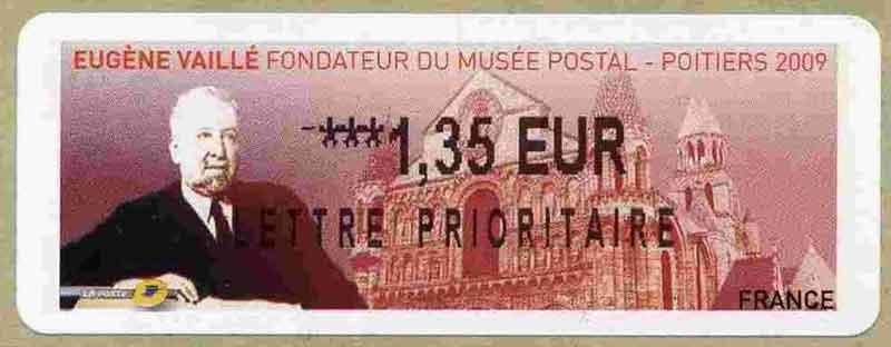 EUGÈNE VAILLÉ FONDATEUR DU MUSÉE POSTAL - POITIER 2009
