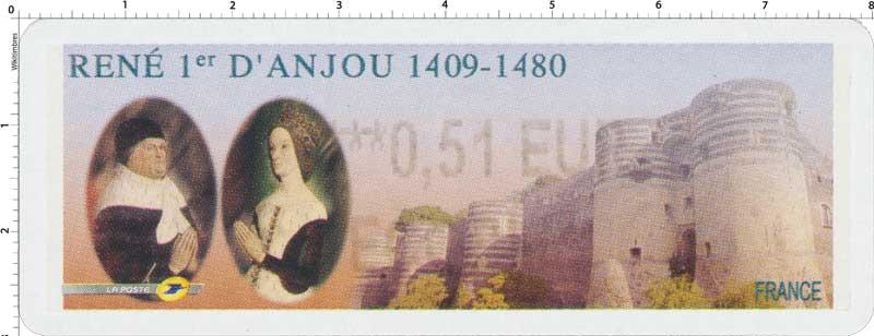 2009 René 1er d'Anjou 1409 - 1480