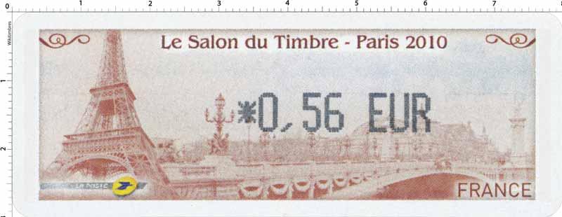 2010 LE SALON DU TIMBRE - PARIS