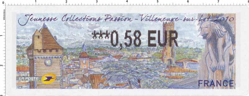 2010 Jeunesse Collections Passion Villeneuve-sur-Lot